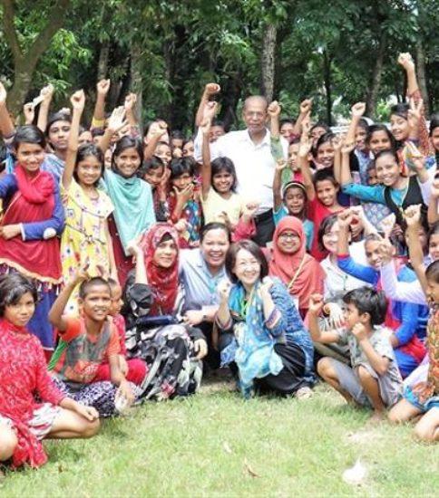 あふれる好奇心に感激!!Activity on Bangladesh